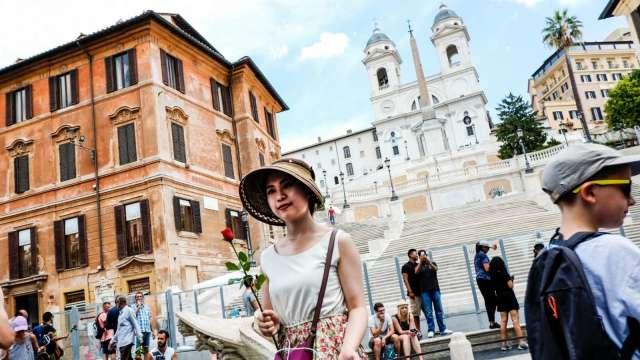 義大利擬開放國外觀光客 最快5月中從歐盟國家開始放行 (圖片:AFP)