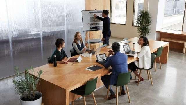 微軟Surface商務版裝置 強化混合辦公行動力的最佳推手。(圖:業者提供)