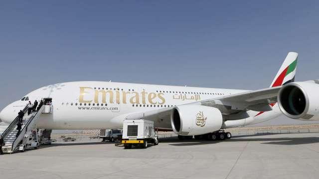 阿聯酋航空:載客量有望在今年冬季前回升到70%(圖片:AFP)