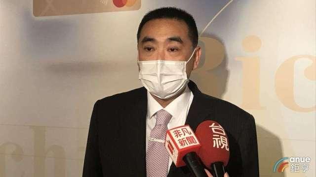 華南銀行副董林知延。(鉅亨網記者郭幸宜攝)