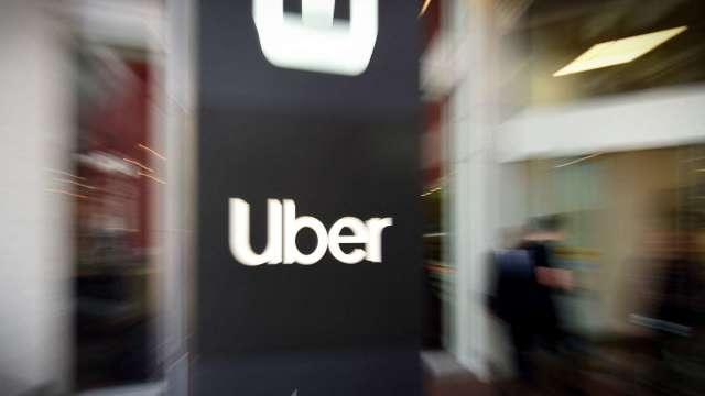 〈財報〉Uber靠賣自駕部門 Q1虧損縮小 但營收遜色 Q2黯淡 盤後跌近5%  (圖片:AFP)