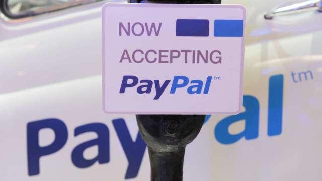 疫情期間網購大增 PayPal第一季營收、淨利均超出預期(圖片:AFP)