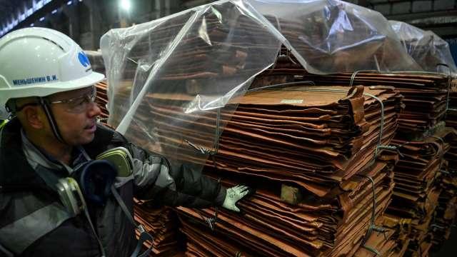 銅是「新石油」 低庫存將使銅價飆至2萬美元。(圖:AFP)