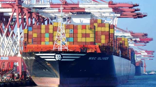 中國4月進出口年增30%起跳 雙雙超預期(圖片:AFP)