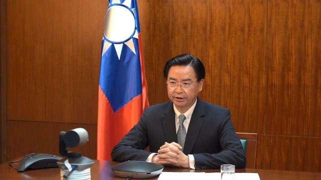 外交部長吳釗燮。(圖:外交部提供)