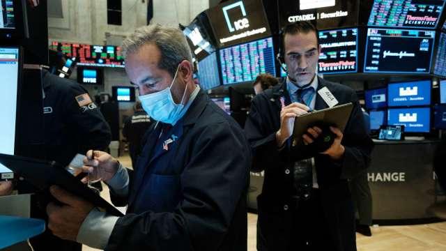 非農數據太可怕 股市為何照漲不誤?專家這樣解讀 (圖片:AFP)