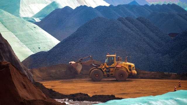 鐵礦砂價格再創新高 升至每噸226美元(圖片:AFP)