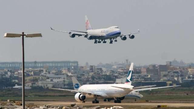 清零計畫2.0啟動 華航機組員陸續停飛14天。(圖:AFP)