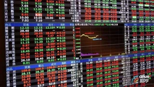 台股滑跤重跌 權值雙王市值一度蒸發5437億元。(鉅亨網資料照)