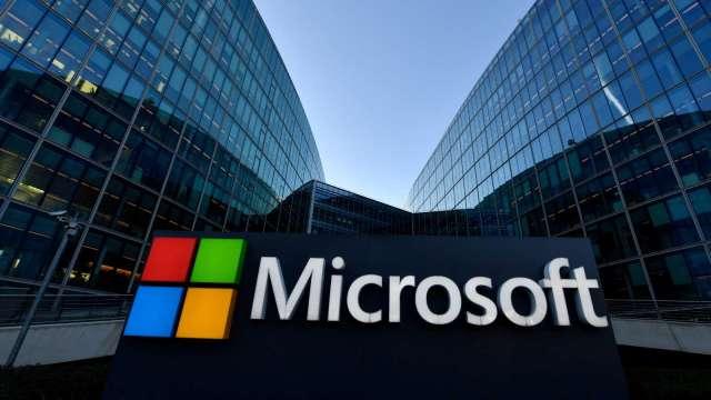 券商喊買微軟 隱含漲幅25% 未來5年可望上漲50% (圖片:AFP)