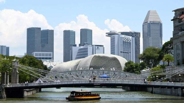 新加坡疫情升溫 星港旅遊泡泡恐無法如期展開(圖:AFP)