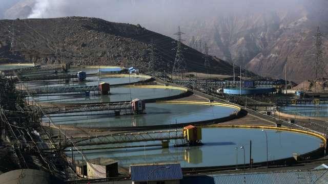 今年全球前10大銅礦商總產量有望增長3.8%(圖片:AFP)