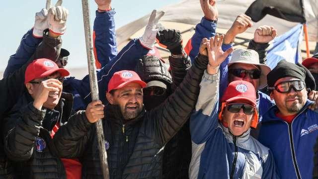 必和必拓薪資協議破局 罷工即將展開 銅礦生產現隱憂(圖:AFP)