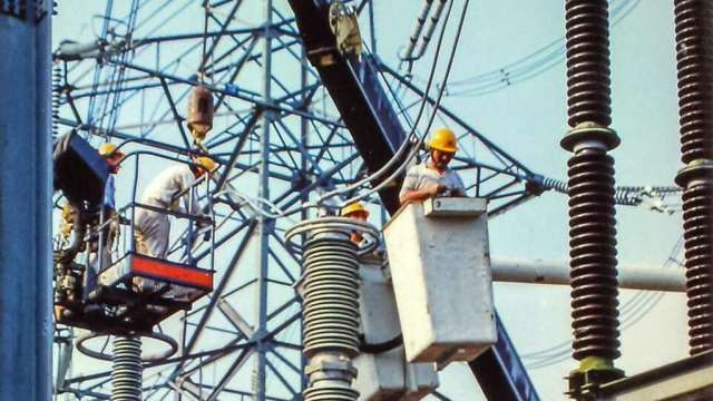 興達電廠故障機組併連緩步升載,台電發緊急停電通知。(台電提供)