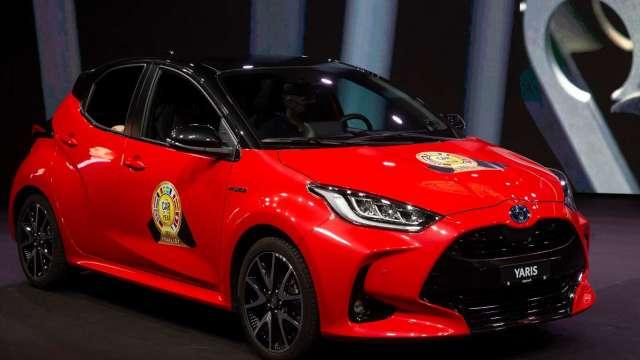 Toyota也撐不住!日本兩座工廠因晶片短缺將於6月停工 (圖片:AFP)