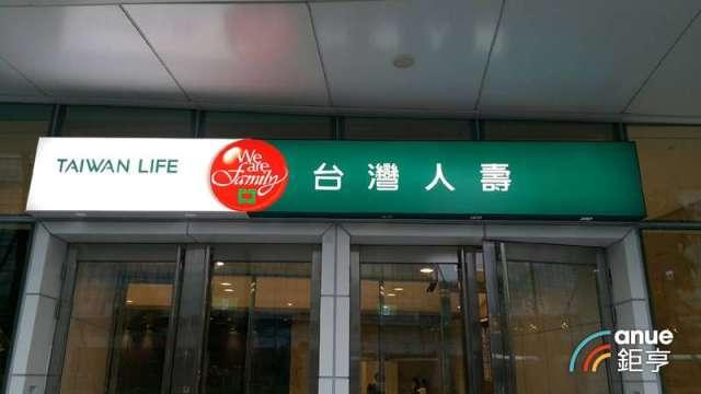 台灣人壽Q1資本利得150億元 投資將續進海外債、配息股。(鉅亨網資料照)