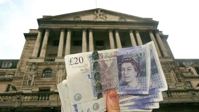 英國4月CPI年增擴大至1.5% 英鎊穩於1.42附近(圖:AFP)