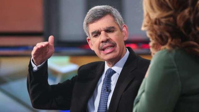 伊爾艾朗:Fed認為通膨只是暫時升溫 但市場擔心鑄下大錯 (圖:AFP)