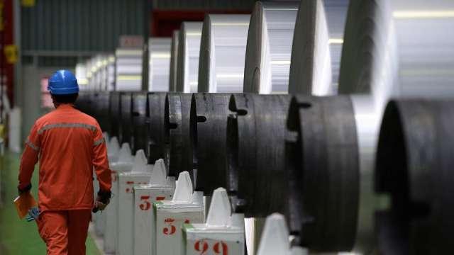 中鴻盤價連12走揚 6月內銷冷熱軋每噸漲2800元。(示意圖:AFP)