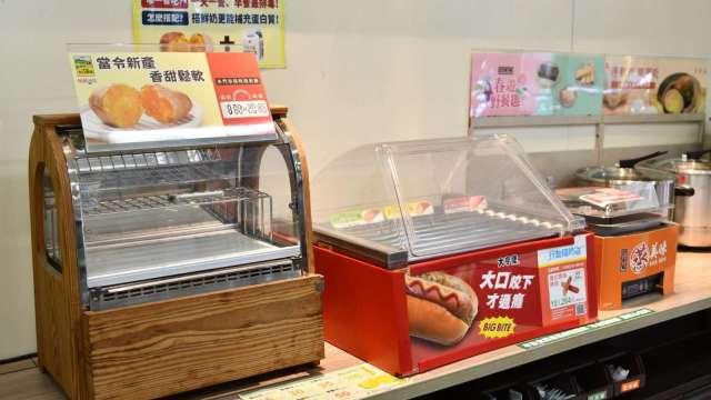 新北超商停止販售未有包裝的熟食產品。(圖:新北市府提供)
