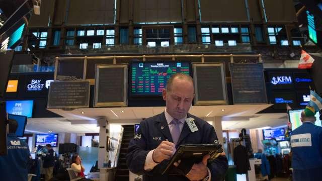 〈美股早盤〉Markit PMI報告將揭曉 美股延續反彈態勢 道瓊漲超200點 (圖:AFP)