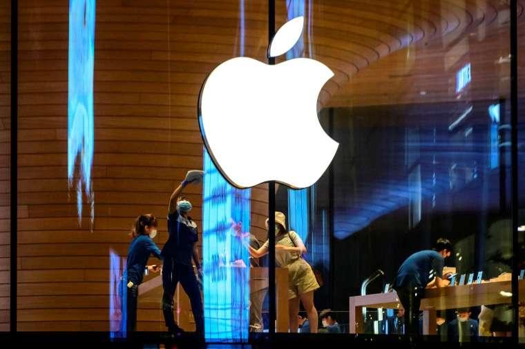 蘋果遭踢爆,向中國政府低頭上繳用戶數據。(圖片:AFP)