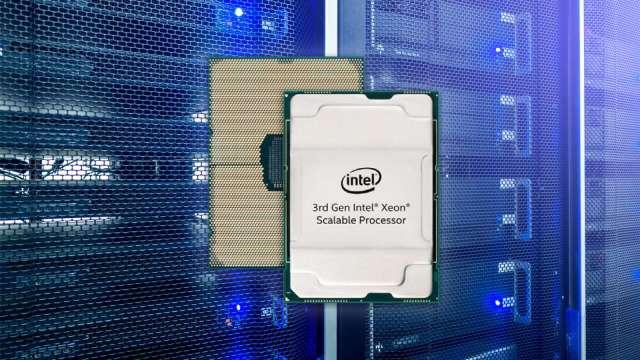 資料中心剛性需求增溫,雲端伺服器廠Q2營運回溫。(圖:英特爾提供)