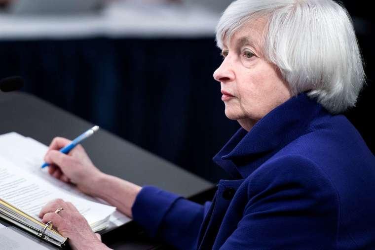 美國財政部願接受一項至少為 15% 的全球最低企業稅率 (圖片:AFP)