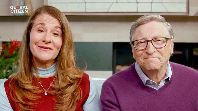 微軟創辦人比爾蓋茲 (Bill Gates) 與妻子梅琳達 (Melinda Gates) (圖片:AFP)