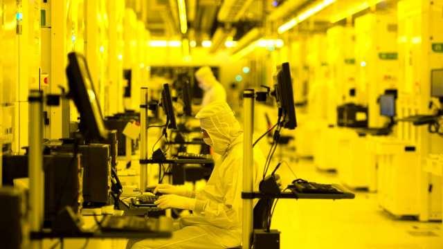 520億美元半導體扶植計畫 料將在美興建7至10座新廠。(圖片:AFP)
