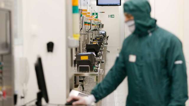 4月北美半導體設備出貨34.1億美元 年增49.5%連四個月寫新猷。(圖:AFP)