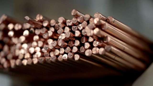 銅價反彈 市場忽略中國官方打擊行動(圖:AFP)