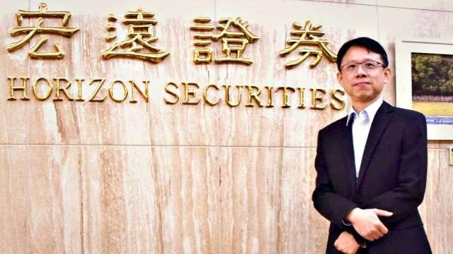 宏遠證券總經理林禎民。(圖:宏遠證提供)