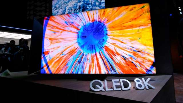 Omdia:全球電視市場第一季年增9.9% 三星居冠(圖片:AFP)
