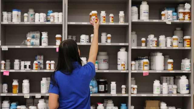 常熟廠代客研製新藥下半年放量出貨 中國虧損有望再收斂。(圖:AFP)
