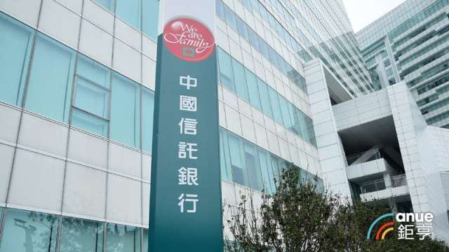 圖為中國信託示意圖,非確診員工辦公大樓。(鉅亨網資料照)