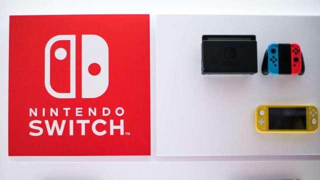 彭博:任天堂最快於今年秋天推出新款Switch主機 (圖片:AFP)