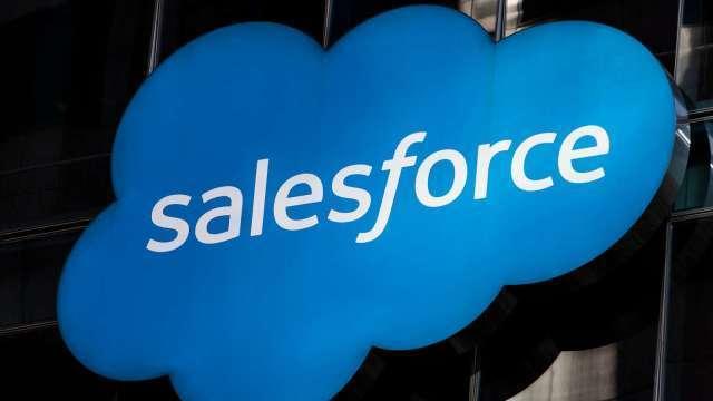 〈財報〉Salesforce首季財報繳佳績 營收年增23%(圖片:AFP)