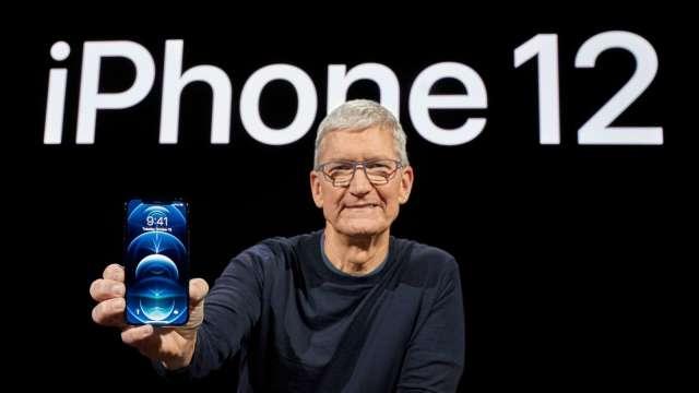 換購iPhone 12享更多優惠!南韓LG用戶獨享 (圖片:AFP)