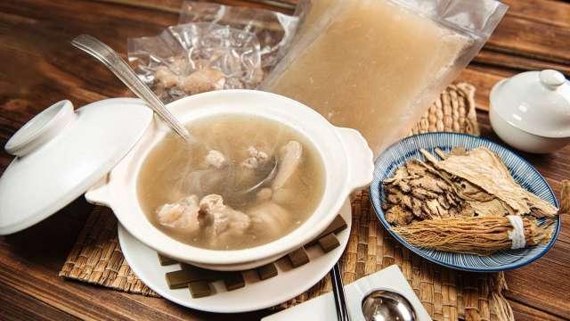 福園台菜餐廳研發全新冷凍湯品搶攻防疫宅美食商機。(圖:漢來美食提供)