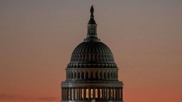 美參議院推遲《美國創新與競爭法》至6/8表決。(圖片:AFP)