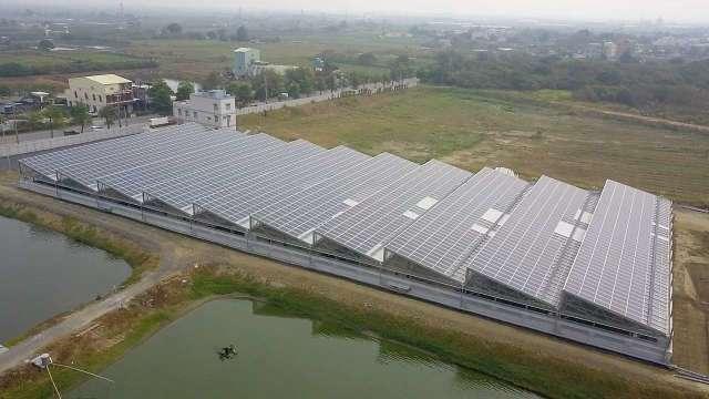 力挺綠能 永豐主辦首宗漁電共生聯貸逾30億元 第四季將正式發電。(圖:永豐銀行提供)