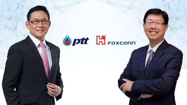 鴻海攜手泰國國家石油,打造電動車開放平台。(圖: 鴻海提供)
