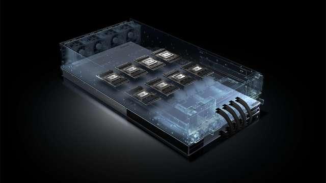 NVIDIA HGX平台。(圖:NVIDIA提供)