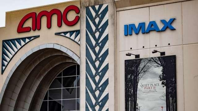 AMC宣布售股籌資2.3億美元 盤前股價大漲16% (圖:AFP)