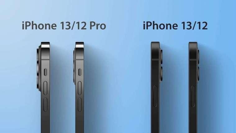 iPhone 13 系列將比 iPhone 12 機身稍厚 (圖片:翻攝 MacRumors)