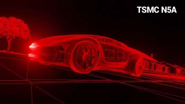 台積電5奈米家族加入N5A製程攻先進汽車應用。(圖:擷取自台積電線上技術論壇)