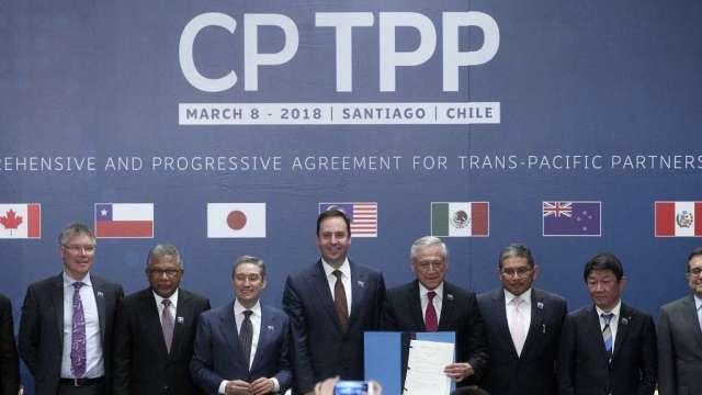 CPTPP啟動英國加入談判 預計需時1年(圖:AFP)
