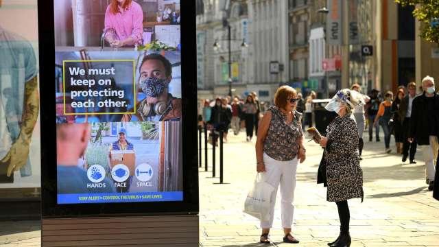 BRC:英國經濟重啟 物價成本恐進一步升高(圖片:AFP)