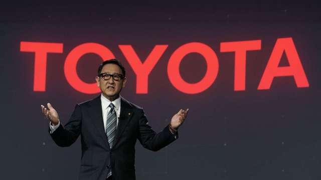 豐田章男:EV充電、加氣設備 不應只把數量當做目標 (圖片:AFP)